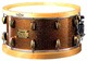 Snare with brass boiler