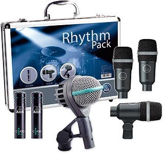 AKG Rhythm Pack Microphone Sets for Drums