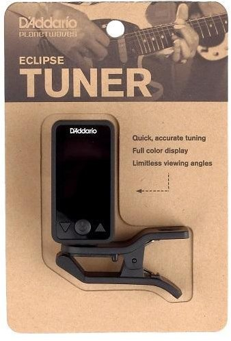 D'Addario Eclipse Chromatic Clip-On Tuner (black)