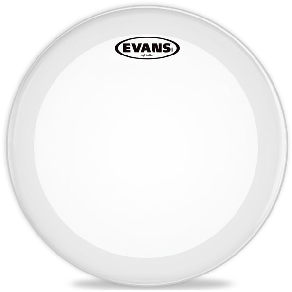 "Evans 18' EQ3 Clear Bass BD18GB3 (Coated Clear) 18"" Δέρματα Κάσας"
