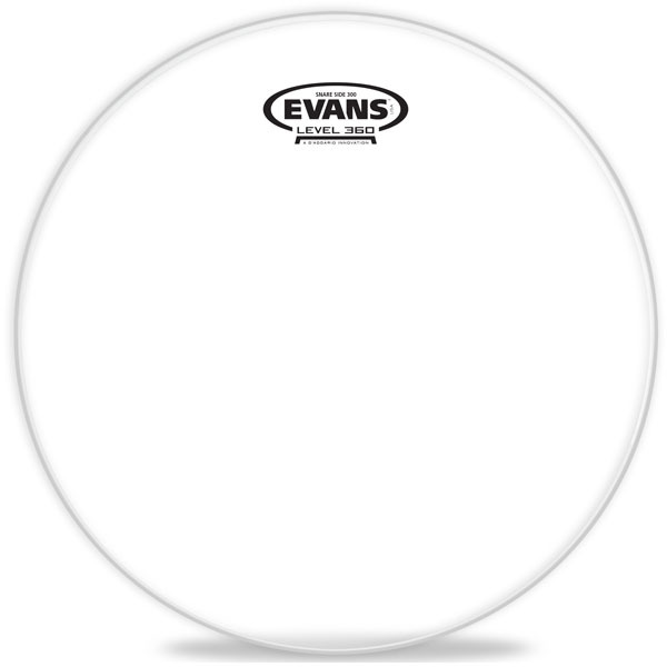 "Evans Snare Resonant 300 Hazy 14 S14H30 14"" Snare Resonant Heads"