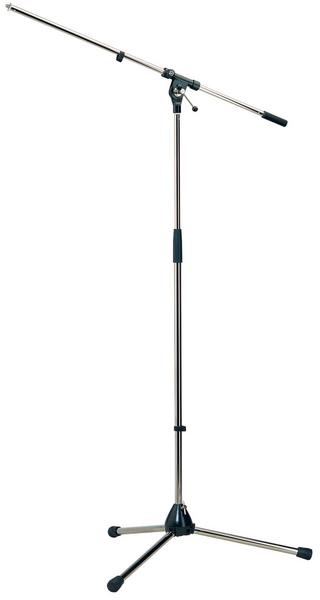 K&M 210/2 Microphone Stand (chrome) Microphone Stands