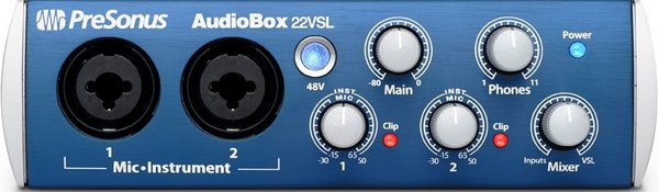 Presonus Audiobox 22 VSL USB Κάρτες Ήχου