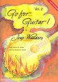 Broekmans Go for Guitar Vol 2 Wanders Joep (incl. CD) Songbooks for Electric Guitar