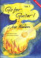Broekmans Go for Guitar Vol. 1 incl. CD / Joep Wanders (for guitar) Songbooks for Electric Guitar
