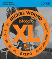 D'Addario EXL110 Regular Light (010-046)