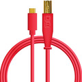 DJ TechTools USB-C chroma cable straight (Red)