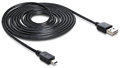 DeLock Easy-USB2.0-Kabel A-MiniB (3m)