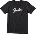 Fender 3D Logo T-Shirt Black (Large)