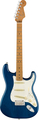 Fender American Pro Strat Ash roasted MN Ltd (blue transparent)