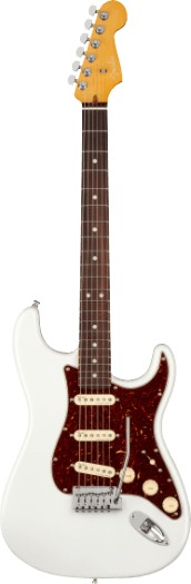 Fender American Ultra Stratocaster RW AM ULTRA STRAT RW ARP (arctic pearl)