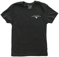 Fender Custom Shop Blk T-Shirt, Red/S (x-large)