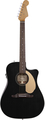 Fender Sonoran SCE, Thinline (black)