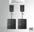 HK Audio Linear 5 LTS Front PA System
