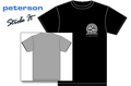 Peterson Strobe T-Shirt (Medium Size / Black)