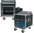 Rockcase 19 L Rack Flight Case 10HE-10U / 24310B (Black)