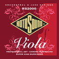 Roto Sound RS2000 Viola Strings Professional Set (chrome flatwound)