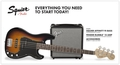 Squier PJ Bass Pack (Brown Sunburst)