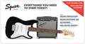 Squier Strat Pack SSS (Black)