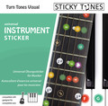 Sticky Tunes Universal Sticker Set (Guitar, Keyboard, Piano) (universal)