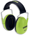 Uvex K Junior / EarMuffs (29db, lime)