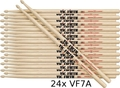 Vic Firth VF7A Multipack 24 / VF7A (Hickory)