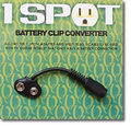 VisualSound Battery Clip Converter