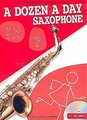 Willis Music Company A Dozen a Day - Saxophone (incl. CD)